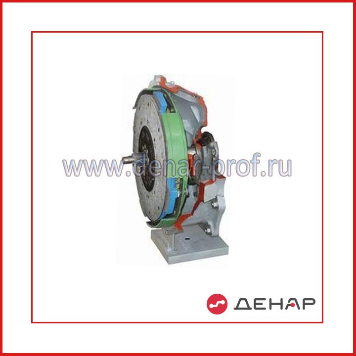 Однодисковое ФС с диафрагменной пружиной вытягиваемого типа (КАМАЗ)