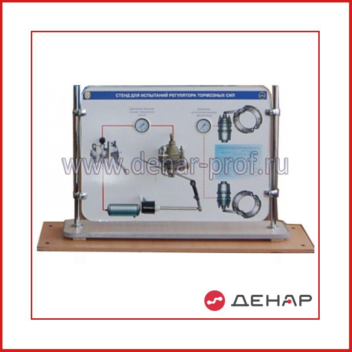 Лабораторный модульный стенд  «Рабочий процесс регулятора тормозных сил»