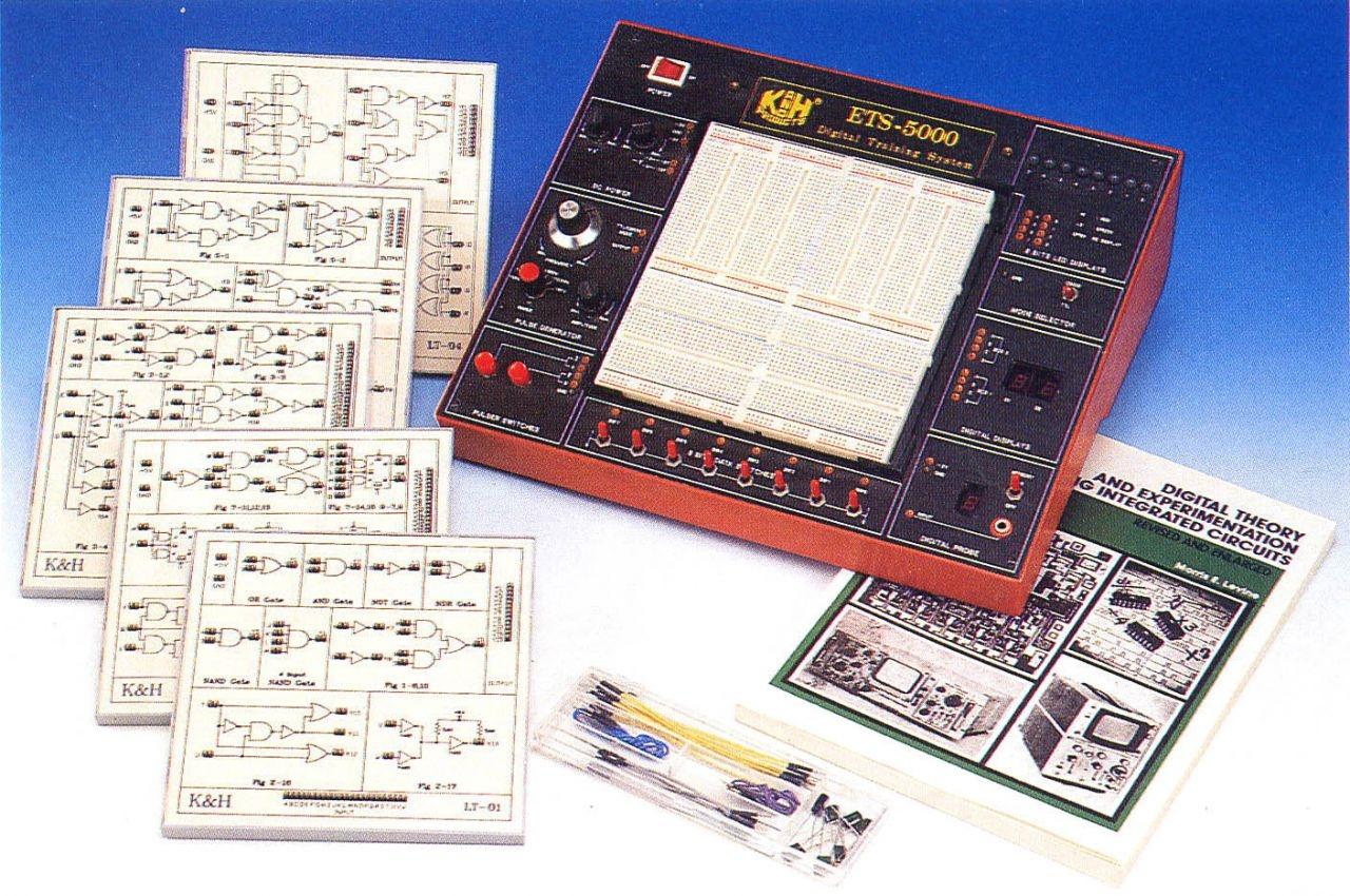 Комплект модулей по цифровой электронике LT-1000