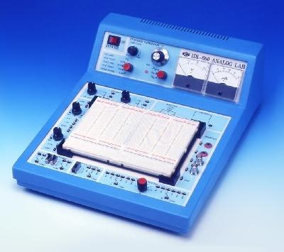 Рабочее место учащегося для сборки и изучения аналоговых схем IDL-600
