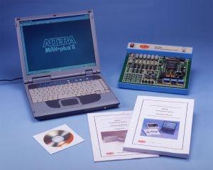 Учебная система для разработки цифровых схем с программируемой логикой (вентильной матрицей) CIC-310
