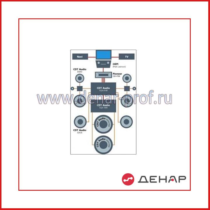 Типовой комплект учебного оборудования «Автомобильная аудиосистема»