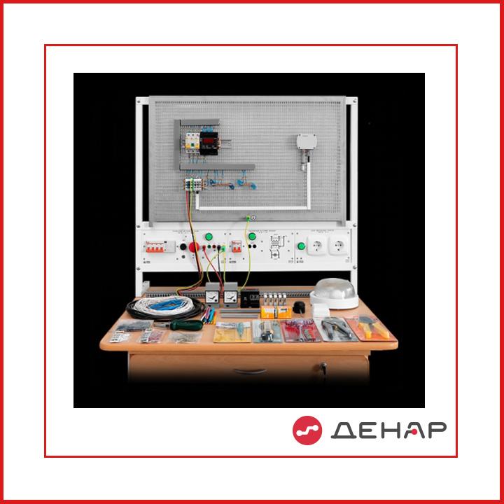 НМН1-СЭИА Набор для монтажа и наладки на электромонтажном столе (панели) систем электрических измерений и автоматики