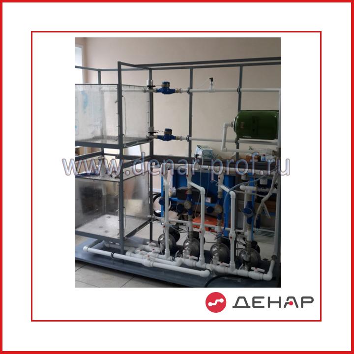 Лабораторный стенд Автоматическая станция повышения давления
