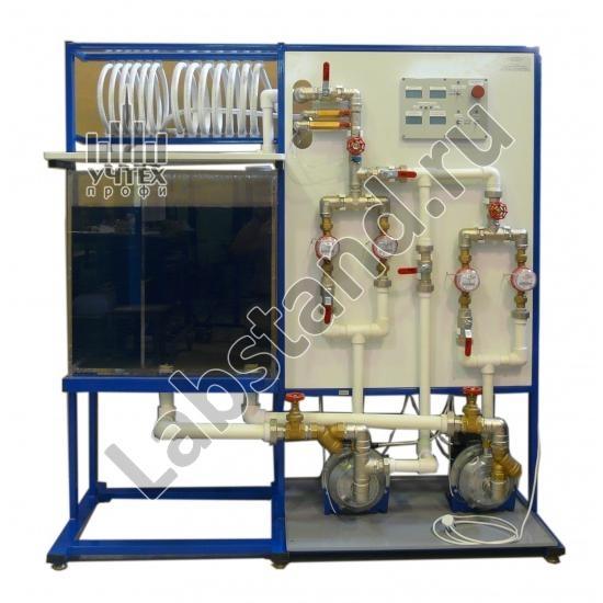 Типовой комплект учебного оборудования Испытание динамических насосов ИДН-010-4ЛР-01-Р