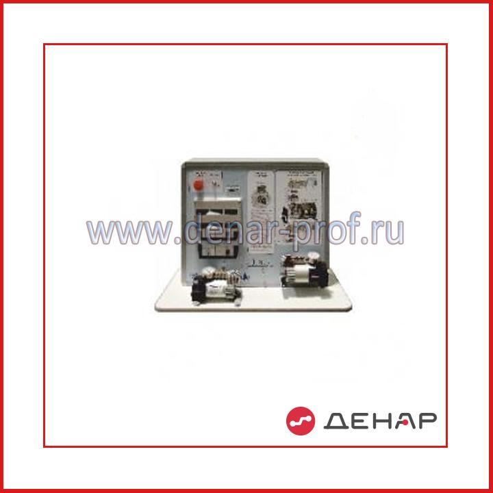 Типовой комплект учебного оборудования Система вакуумной откачки грунтовых вод - илососные машины СВОГВ-ИМ-4ЛР-10-01