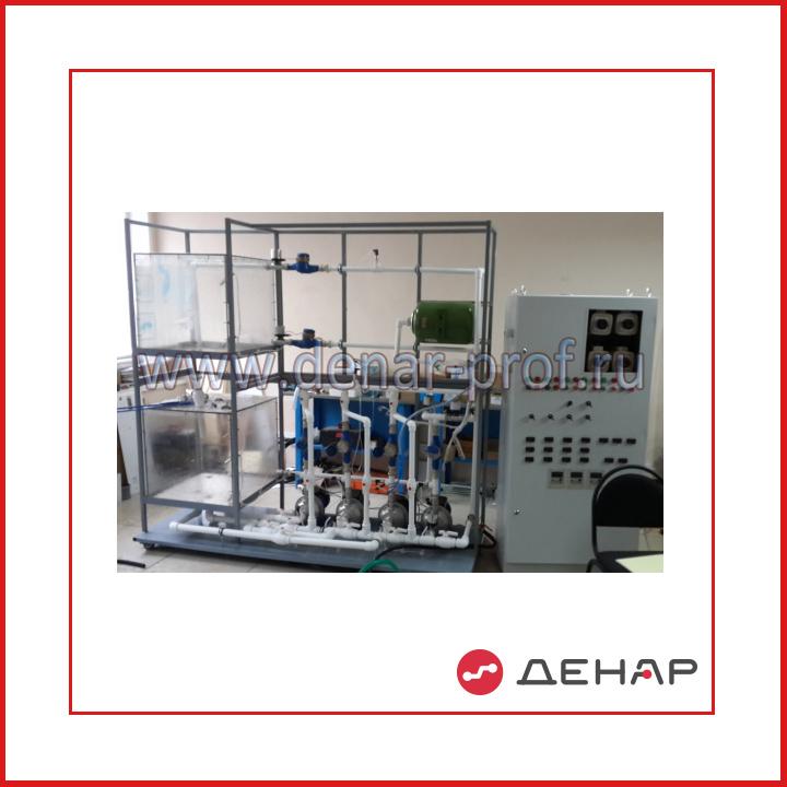 Типовой комплект учебного оборудования «Управление насосной перекачивающей станцией систем водоснабжения» СУ-УНПССВ-01