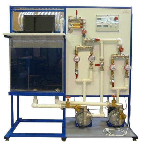Лабораторный стенд «Центробежные насосы» СГУ-ЦНС-012-6ЛР-ПК