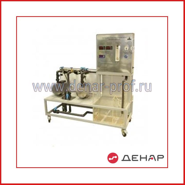 Типовой комплект учебного оборудования Последовательная и параллельная работа насосных агрегатов