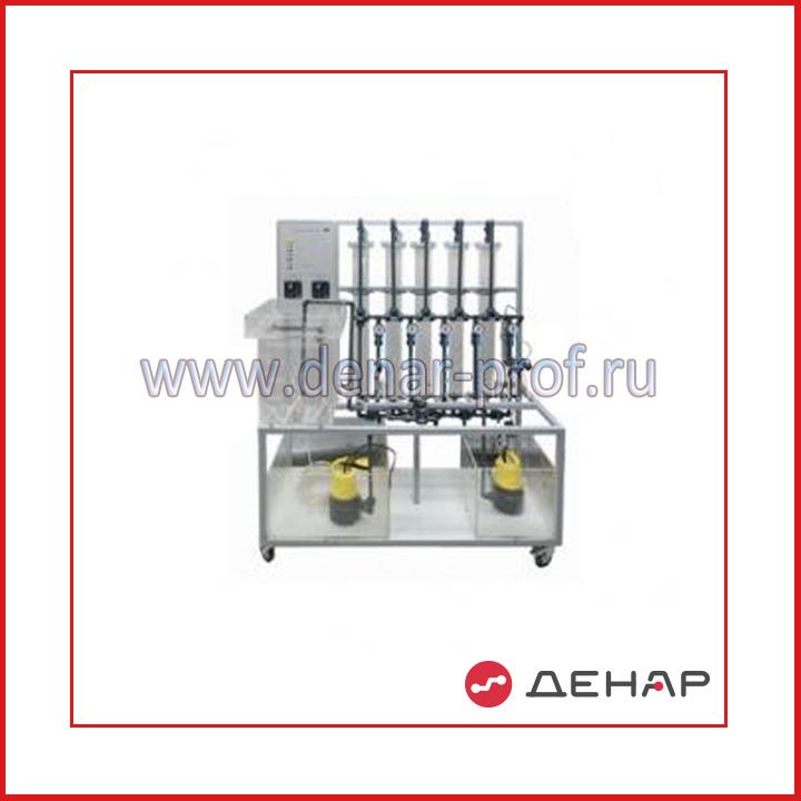 Типовой комплект учебного оборудования Система охлаждения оборотной воды воздушным способом