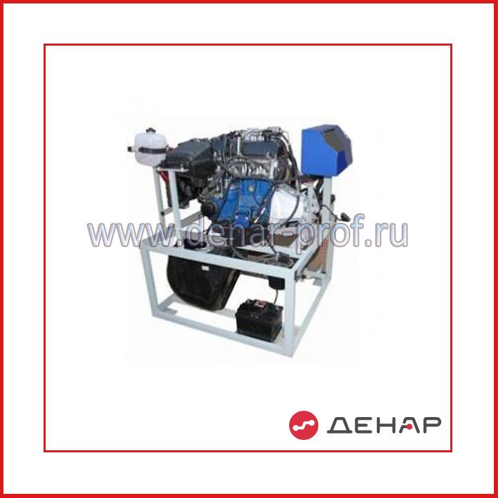 Действующий инжекторный ДВС ВАЗ-21067