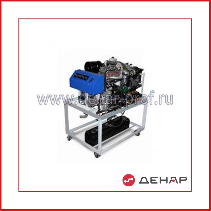 Действующий инжекторный двигатель марки ЗМЗ