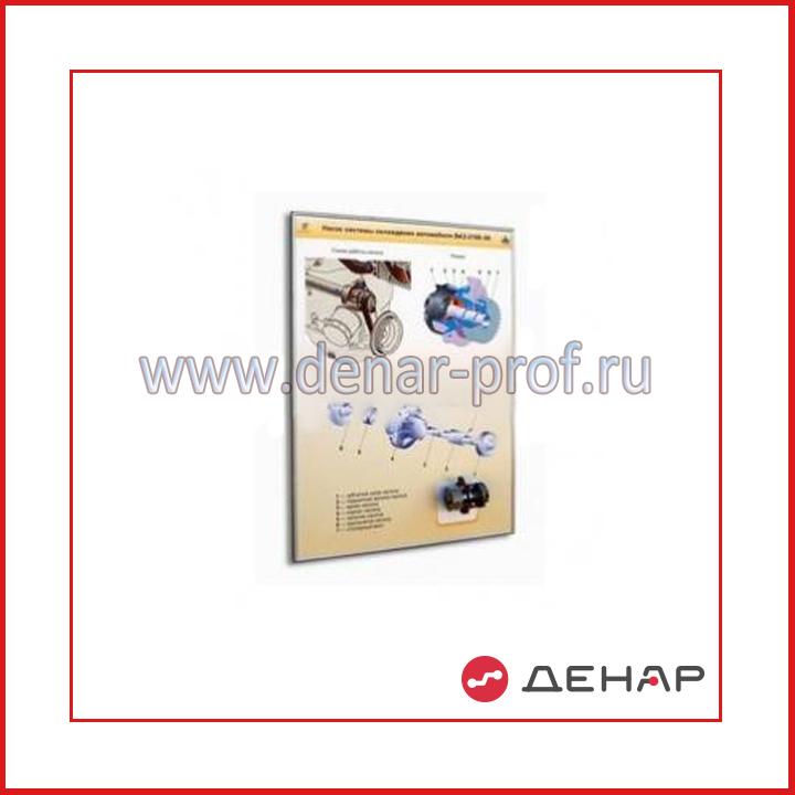 """Стенд-планшет """"Насос системы охлаждения ВАЗ-2117 (Приора)"""""""