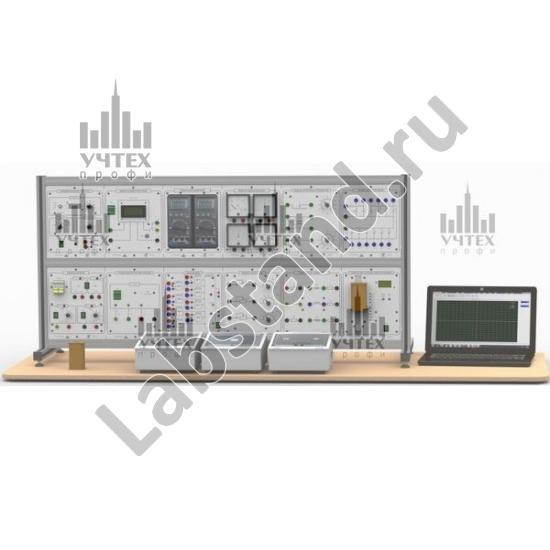 """Типовой комплект учебного оборудования """"Теоретические основы электротехники"""", исполнение настольное с ноутбуком, ТОЭ-НН"""