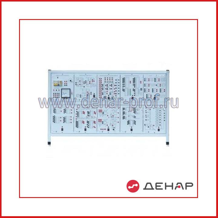Типовой комплект учебного оборудования «Цифровая электроника», исполнение стендовое, ручное ЦЭ-СР