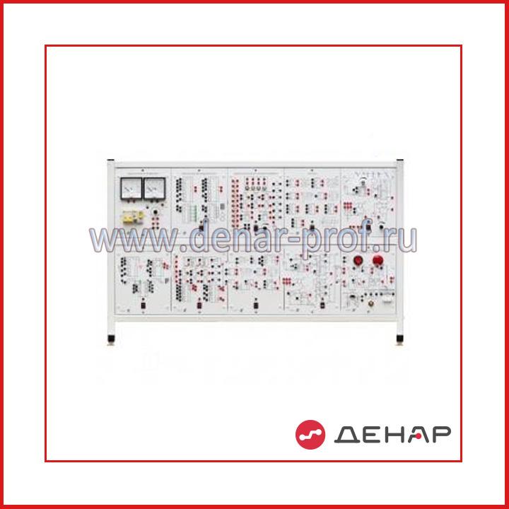 Типовой комплект учебного оборудования  «Элементы систем автоматики и вычислительной техники», исполнение настольное, ручное  ЭСАиВТ-НР
