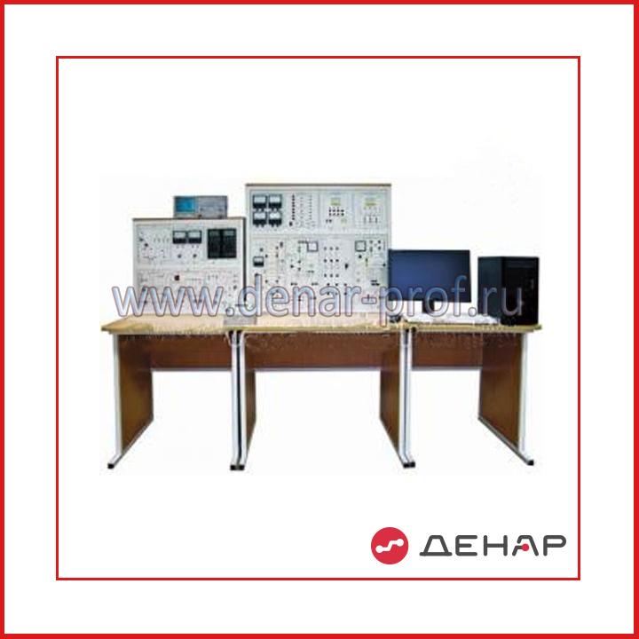 """Типовой комплект учебного оборудования """"Преобразовательная техника"""", исполнение стендовое компьютерное с осциллографом, ПТ2-СКА"""