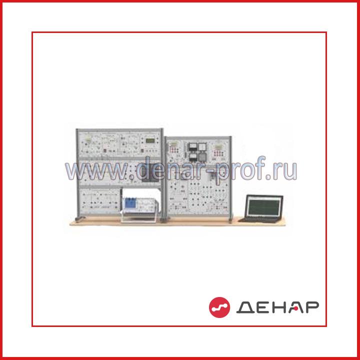 """Типовой комплект учебного оборудования """"Силовая электроника"""", исполнение настольное с ноутбуком с осциллографом, СЭ-ННА"""