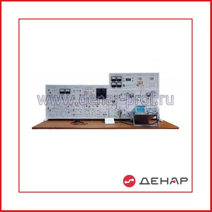 """Типовой комплект учебного оборудования """"Промышленная электроника"""", исполнение настольное ручное с осциллографом, ПЭ-НРА"""