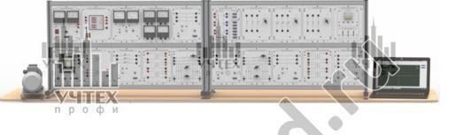 """Типовой комплект учебного оборудования """"Модель электрической системы с узлом комплексной нагрузки"""", исполнение настольное с ноутбуком, МЭС-КН-НН"""