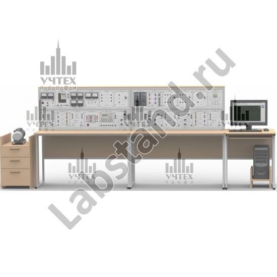 """Типовой комплект учебного оборудования """"Модель электрической системы с релейной защитой и автоматикой"""", исполнение настольное с ноутбуком,      МЭС-РЗ-НН"""