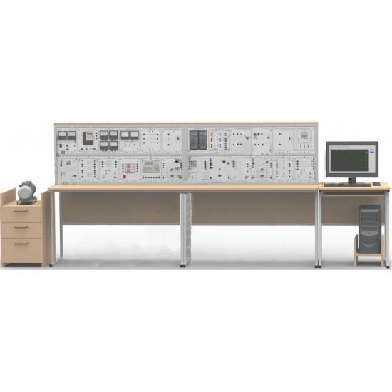 """Типовой комплект учебного оборудования """"Электрические станции и подстанции"""", исполнение стендовое компьютерное, СиПС-СК"""