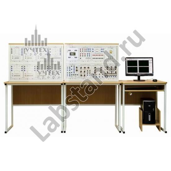 """Типовой комплект учебного оборудования """"Релейная защита"""", исполнение настольное с ноутбуком, РЗ-НН"""