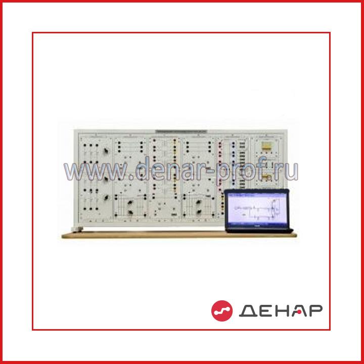 """Типовой комплект учебного оборудования """"Автоматизация электроэнергетических систем"""", исполнение настольное с ноутбуком, АЭС1-НН"""
