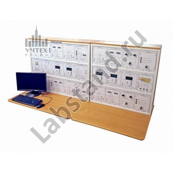 """Типовой комплект учебного оборудования """"Модель цифровой подстанции"""", исполнение настольное с ноутбуком, МЦП-НН"""