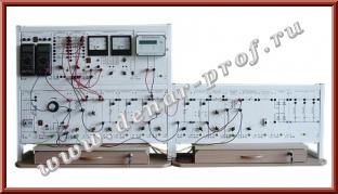 Однолинейная модель распределительной электрической сети с измерителем показателей качества электроэнергии ЭЭ1-ОРСК-Н-К
