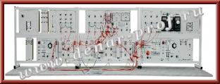 Модель электрической сети с длинной линией электропередачи ЭЭ1-СЛ-Н-Р