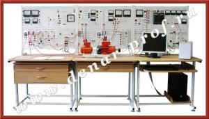 Электромеханическая модель ветроэлектроустановки НЭЭ1-ВЭУ-С-К