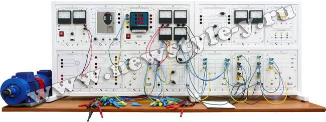 """Типовой комплект учебного оборудования """"Модель электрической системы"""" / настольный, ручной вариант / МЭС-НР"""