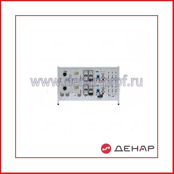 Типовой комплект учебного оборудования «Рабочее место электромонтажника», стендовое исполнение, ручная версия      РМЭ-СР