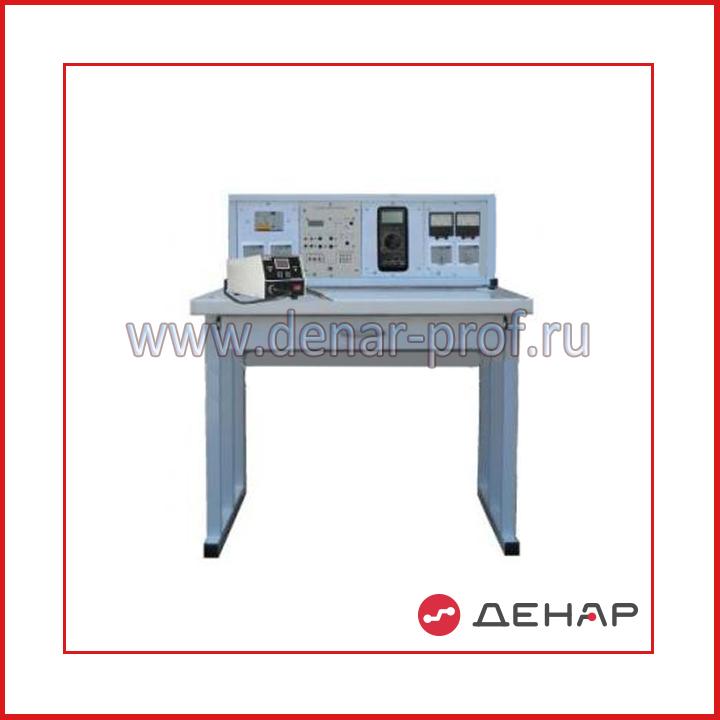 Типовой комплект учебного оборудования «Рабочее место радиомонтажника», стендовое исполнение       РМР-СР