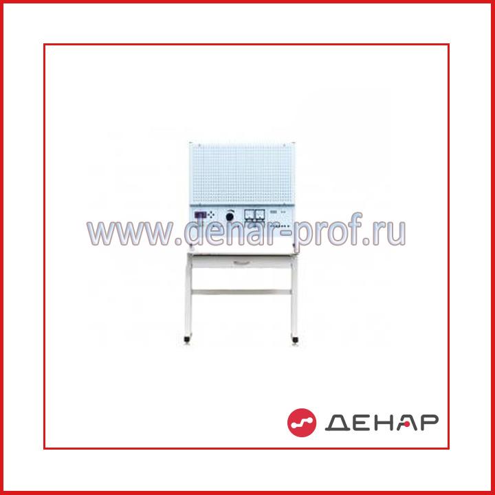 Типовой комплект учебного оборудования «Монтаж и наладка электрических цепей электромоторов и автоматики», стендовое исполнение, монтажная панель