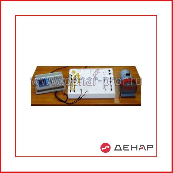 """Типовой комплект учебного оборудования """"Релейно-контакторные схемы управления двигателя постоянного тока"""" исполнение настольное ручное   РКС-ДПТ"""