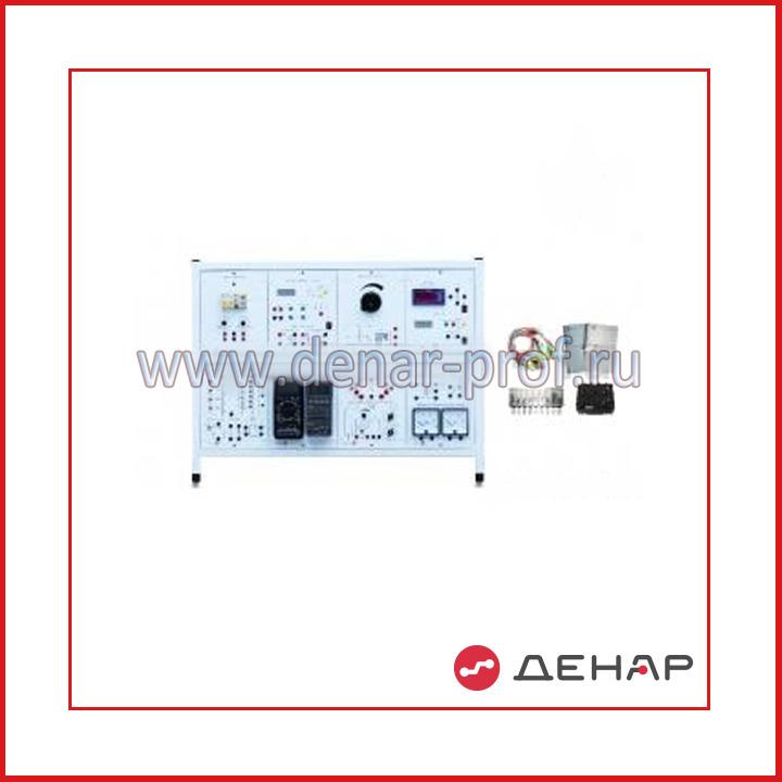 Типовой комплект учебного оборудования «Электрические измерения и основы метрологии», настольный вариант, компьютерная версия (без ПК)