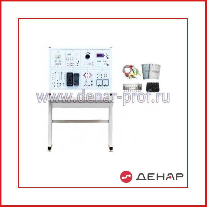 Типовой комплект учебного оборудования «Электрические измерения и основы метрологии», стендовый вариант, компьютерная версия (без ПК)