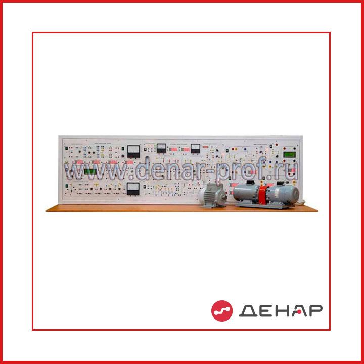 Типовой комплект учебного оборудования «Электротехника и основы электроники», исполнение стендовое ручное 3 моноблока (ЭТиОЭ-М3-СР)