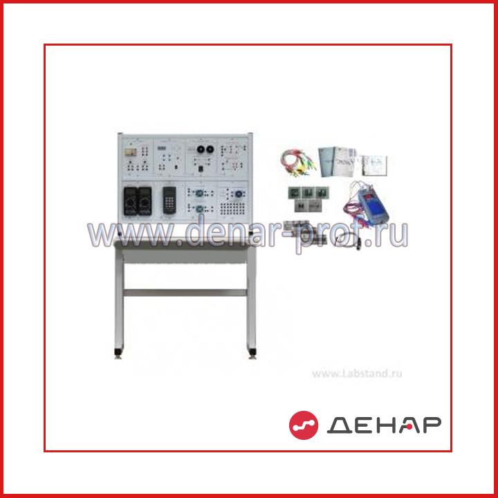 Типовой комплект учебного оборудования «Электротехнические материалы», стендовый вариант, компьютерная версия  (ЭТМ-СК)