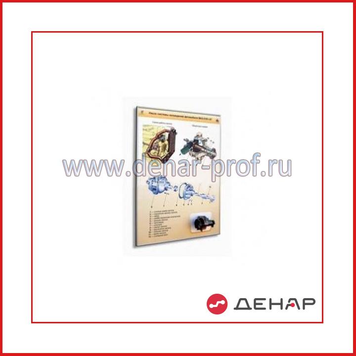 """Стенд-планшет """"Насос системы охлаждения автомобиля ВАЗ-2101-07"""""""