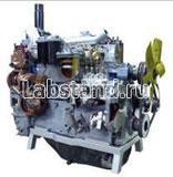 Двигатель строительных машин типа А-41 (агрегаты в разрезе) с электромеханическим приводом